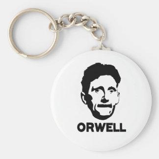 George Orwell Keychain