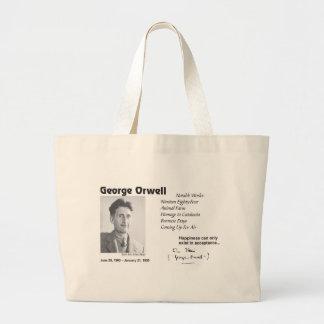 George Orwell Large Tote Bag