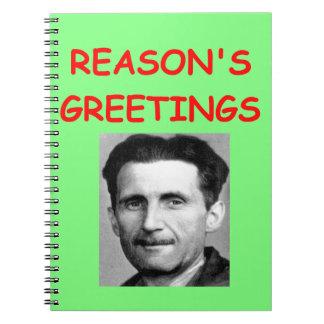 george orwell note books