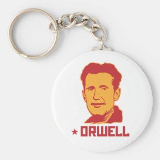 George Orwell Portrait Keychain