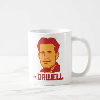 George Orwell Portrait Mug