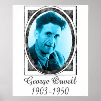 George Orwell Print