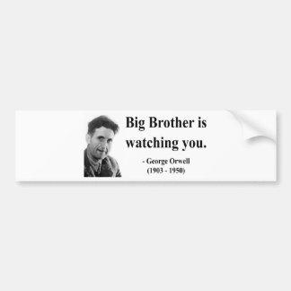George Orwell Quote 5b Bumper Sticker