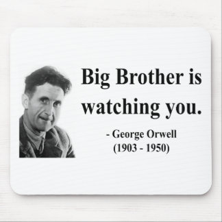 George Orwell Quote 5b Mouse Pad