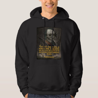 George Orwell Quote on Wartime Propaganda Hoodie