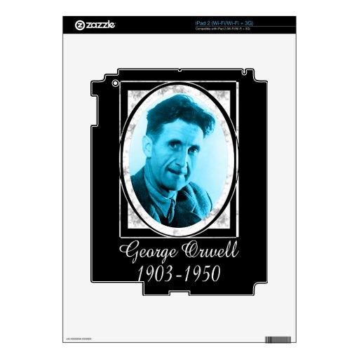 George Orwell iPad 2 Skin