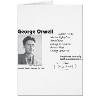 George Orwell Tarjetas