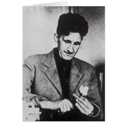 George Orwell Tarjeta De Felicitación