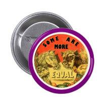 George Orwell's Animal Farm Pinback Button