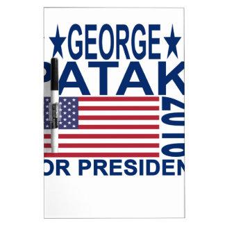 George Pataki 2016 T Shirt ''.png Dry-Erase Whiteboard