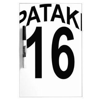 George Pataki 2016 T Shirt.png Dry-Erase Whiteboards