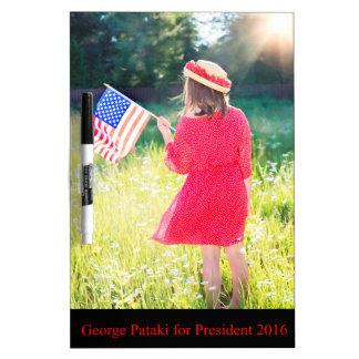 George Pataki for President 2016 Dry-Erase Whiteboard