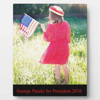George Pataki for President 2016 Plaque