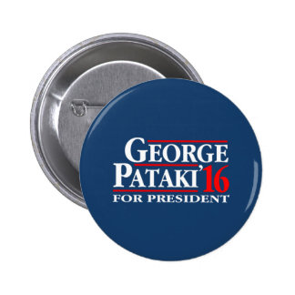 George Pataki For President 2 Inch Round Button
