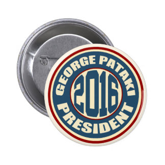 George Pataki for President in 2016 2 Inch Round Button