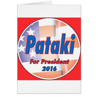 George Pataki for President in 2016 Card