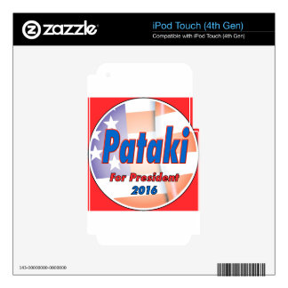George Pataki for President in 2016 Decals For iPod Touch 4G