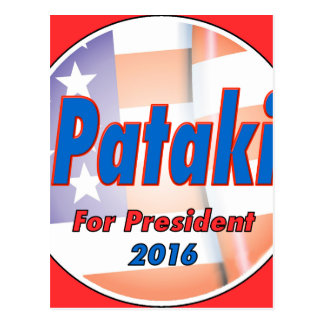 George Pataki for President in 2016 Postcard