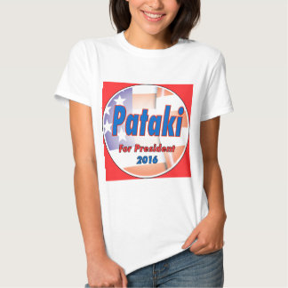 George Pataki for President in 2016 Tee Shirts