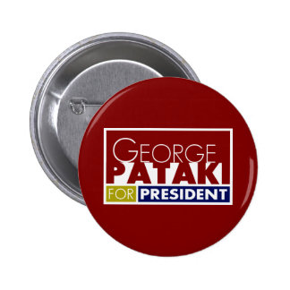 George Pataki for President V1 2 Inch Round Button