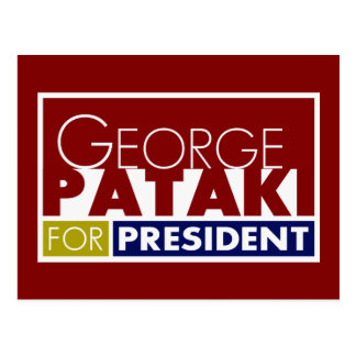 George Pataki for President V1 Postcard