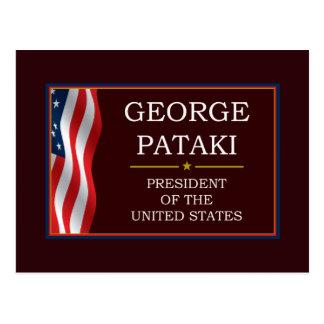 George Pataki for President V3 Postcard