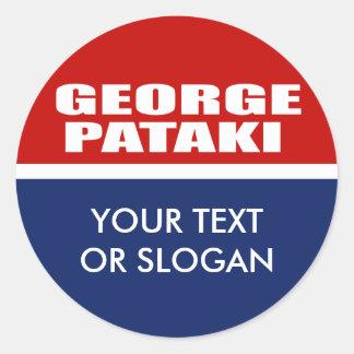 GEORGE PATAKI FOR SENATE STICKERS
