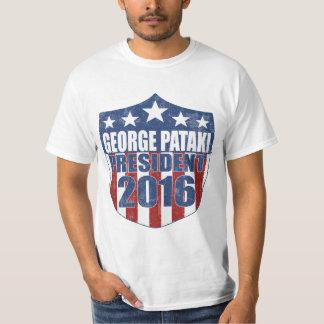 George Pataki President 2016 Shield Tshirt