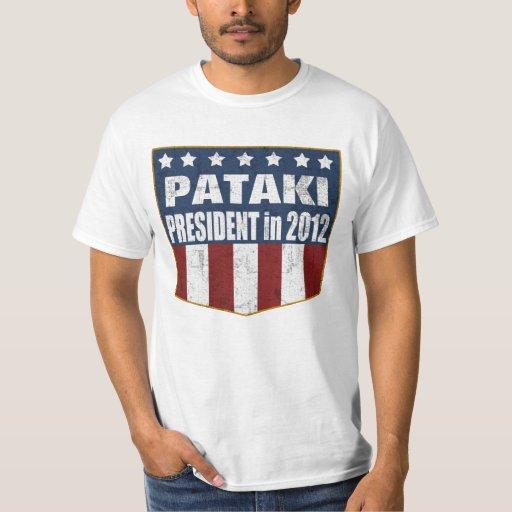 George Pataki President in 2012 T-Shirt