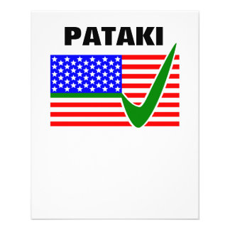 George Pataki Republican for President 2016 Flyer