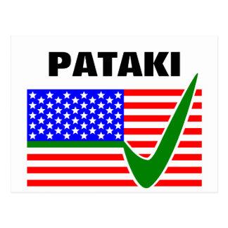 George Pataki Republican for President 2016 Postcard