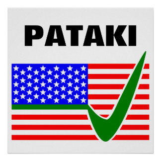 George Pataki Republican for President 2016 Poster