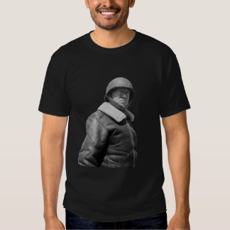 George Patton and quote - Black an... - T Shirt
