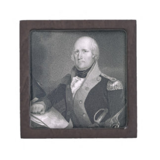 George Rogers Clark (1752-1818) engraved by Thomas Jewelry Box