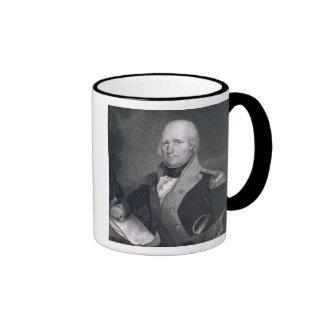 George Rogers Clark (1752-1818) engraved by Thomas Coffee Mugs