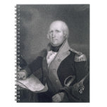 George Rogers Clark (1752-1818) engraved by Thomas Spiral Note Books