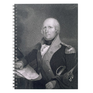 George Rogers Clark (1752-1818) engraved by Thomas Notebook