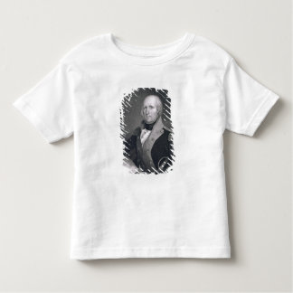 George Rogers Clark (1752-1818) engraved by Thomas Toddler T-shirt