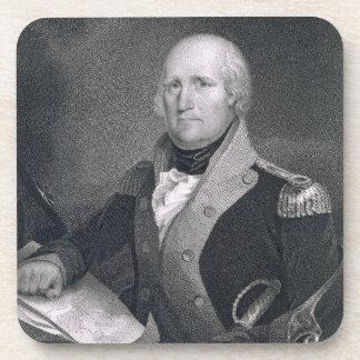 George Rogers Clark (1752-1818) grabado por Thomas Posavasos De Bebidas