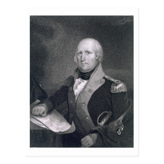 George Rogers Clark (1752-1818) grabado por Thomas Postales