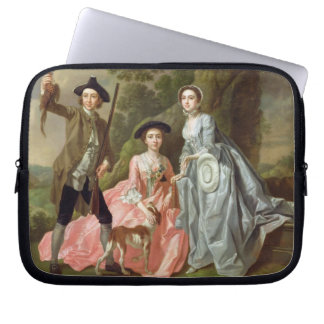 George Rogers with his Wife, Margaret, and his Sis Laptop Computer Sleeve