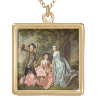 George Rogers with his Wife, Margaret, and his Sis Custom Necklace