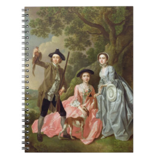 George Rogers with his Wife, Margaret, and his Sis Spiral Note Books
