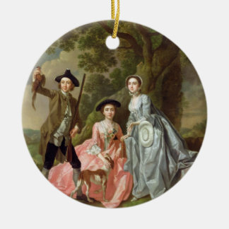 George Rogers with his Wife, Margaret, and his Sis Ornaments