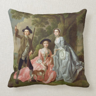 George Rogers with his Wife, Margaret, and his Sis Pillows