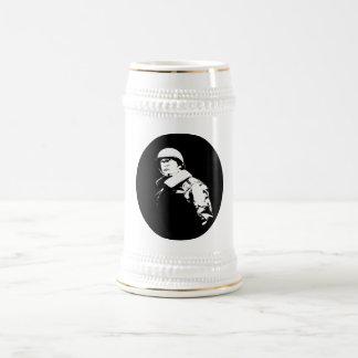 George S. Patton Jr. Beer Stein