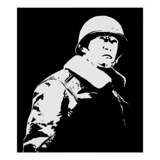 George S. Patton Jr. Poster