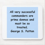 george s patton quote mousepads