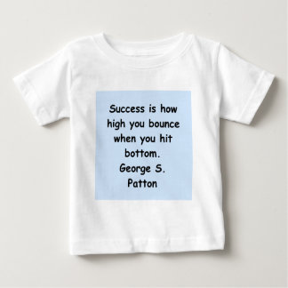 george s patton quote infant t-shirt