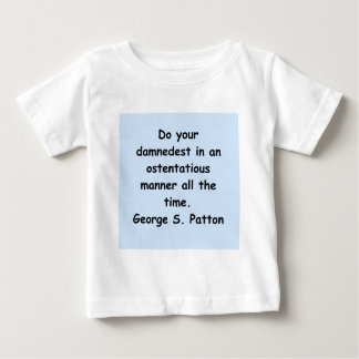 george s patton quote t shirts